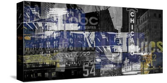 Chicago 1-Sven Pfrommer-Stretched Canvas Print