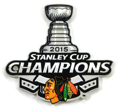 Chicago Blackhawks 2015 Stanley Cup Champions Steel Magnet