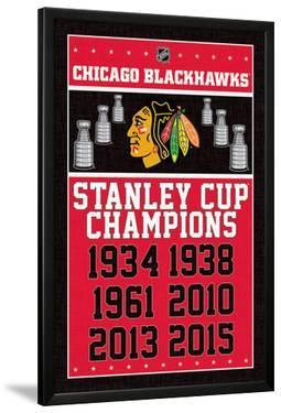 Chicago Blackhawks- Champions 2015