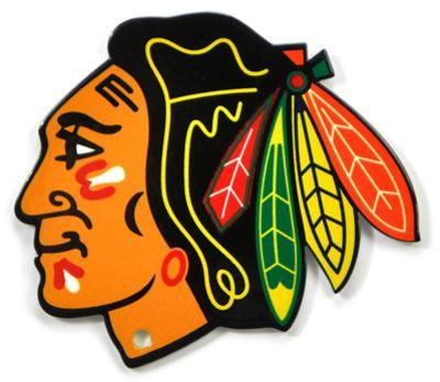 Chicago Blackhawks Steel Magnet