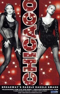 Chicago - Broadway Poster