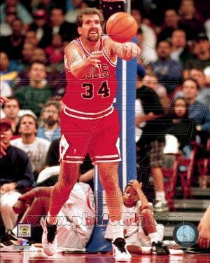Chicago Bulls Bill Wennington Action