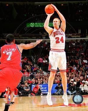 Chicago Bulls - Brian Scalabrine Photo