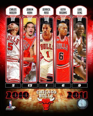 Chicago Bulls - Chicago Bulls Team Comp 2010-11