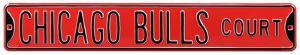 Chicago Bulls Ct Steel Sign