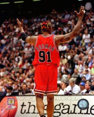 Chicago Bulls - Dennis Rodman Photo