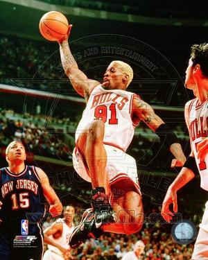 Chicago Bulls - Dennis Rodman Photo