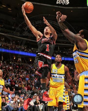 Chicago Bulls Derrick Rose 2013-14 Action