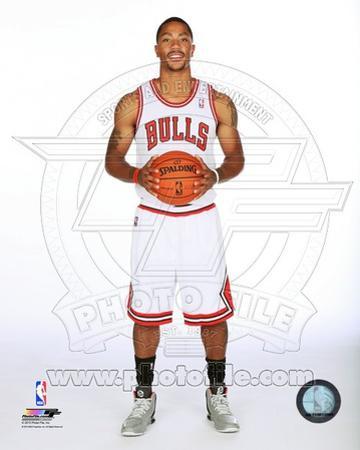 Chicago Bulls Derrick Rose 2013-14 Posed