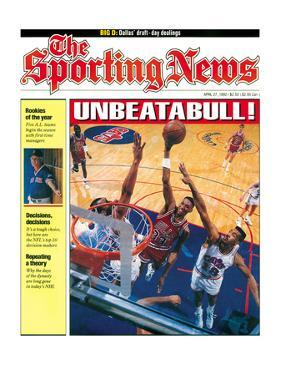 Chicago Bulls' Scottie Pippen - April 27, 1992