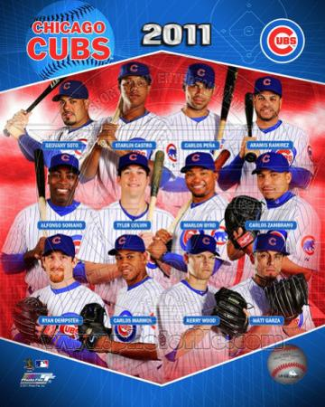 Chicago Cubs 2011 Team Composite