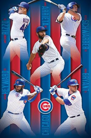 Chicago Cubs- 2016 Lineup