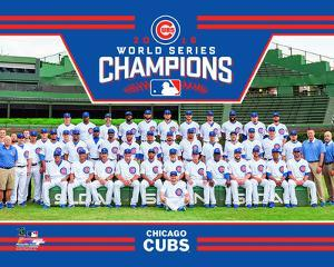 Chicago Cubs 2016 World Series Champions Team Sit Down