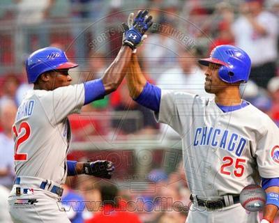 Chicago Cubs - Alfonso Soriano, Derrek Lee Photo