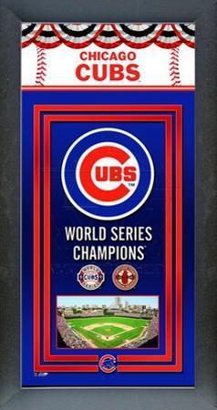 Chicago Cubs Framed Championship Banner