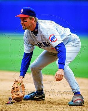 Chicago Cubs Mark Grace 1998 Action