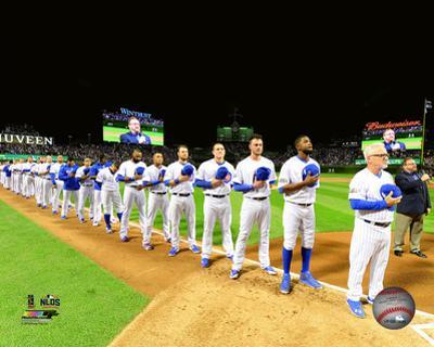 Chicago Cubs National Anthem Game 1 of the 2016 National League Division Series