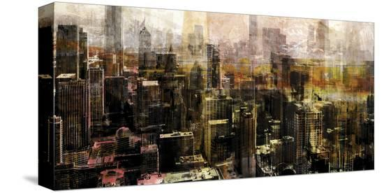 Chicago Sky 10-Sven Pfrommer-Stretched Canvas Print