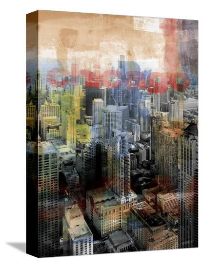 Chicago Sky 20-Sven Pfrommer-Stretched Canvas Print