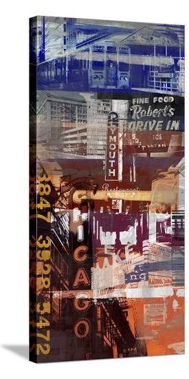 Chicago Style 2-Sven Pfrommer-Stretched Canvas Print