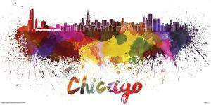 Chicago- Watercolors Inundation
