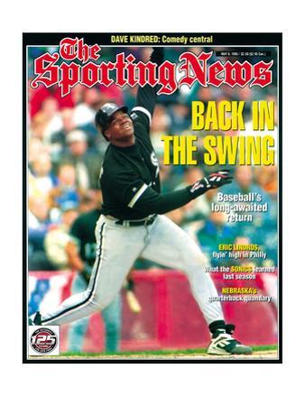 Chicago White Sox 1B Frank Thomas - May 8, 1995