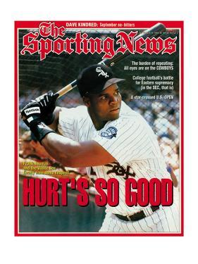 Chicago White Sox 1B Frank Thomas - September 20, 1993