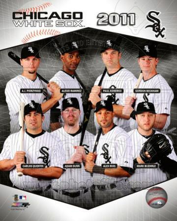Chicago White Sox 2011 Team Composite