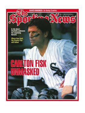 Chicago White Sox C Carlton Fisk - May 17, 1993