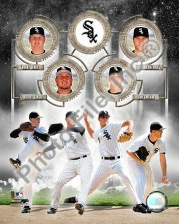 Chicago White Sox - Freddy Garcia, Mark Buehrle, Jon Garland, Bobby Jenks Photo