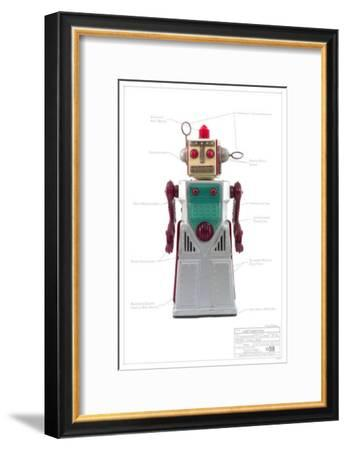 Chief Robot Man--Framed Masterprint