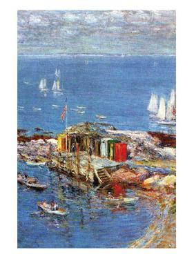 Afternoon In August by Childe Hassam