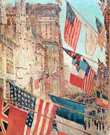 Allies Day, May 1917, 1917 by Childe Hassam