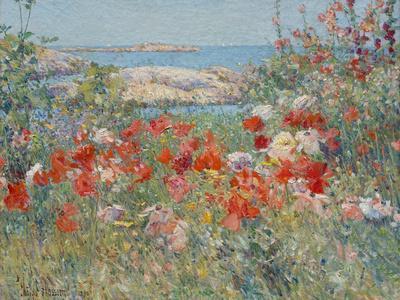 Celia Thaxter's Garden, Isles of Shoals, Maine, 1890