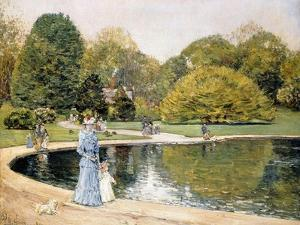 Central Park by Childe Hassam