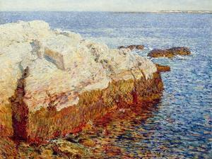 Cliff Rock, Appledore, 1903 by Childe Hassam