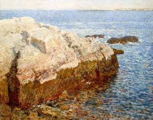 Cliff Rock Appledore (Isles of Shoals, Maine) by Childe Hassam
