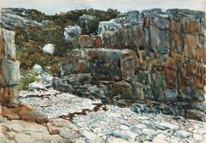 Diamond Cove, 1912 by Childe Hassam