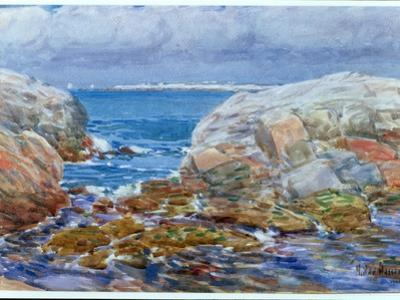 Duck Island, Isles of Shoals, 1906 by Childe Hassam