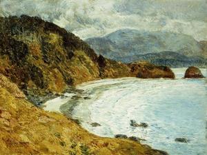 Ecola Beach, Oregon, 1904 by Childe Hassam