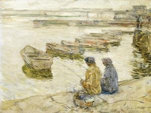 Fishing, 1896 by Childe Hassam