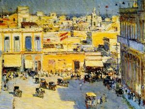 Havana, Cuba, 1895 by Childe Hassam