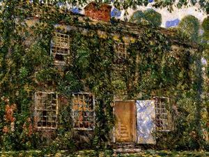 Home Cottage, East Hampton, C.1916 by Childe Hassam