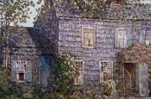 Hutchison House, Easthampton, Long Island by Childe Hassam