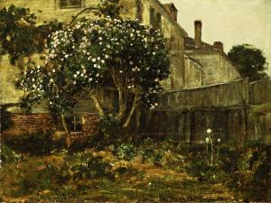Lilac Time, C.1884 by Childe Hassam