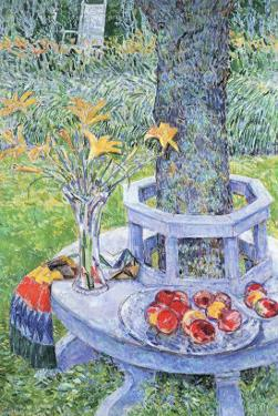 Mrs. Hassam's Garden by Childe Hassam
