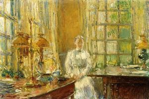 Mrs. Holley of Cos Cob, 1912 by Childe Hassam