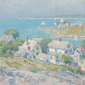 New England Headlands, 1899 by Childe Hassam