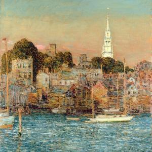 October Sundown, Newport, 1901 by Childe Hassam