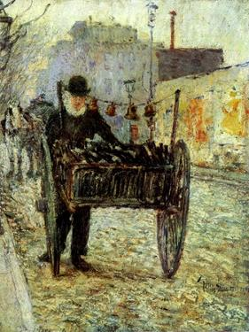 Old Man Carrying Bottles, 1892 by Childe Hassam